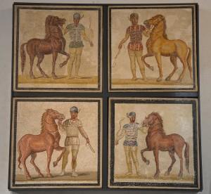 Charioteers Mosaic