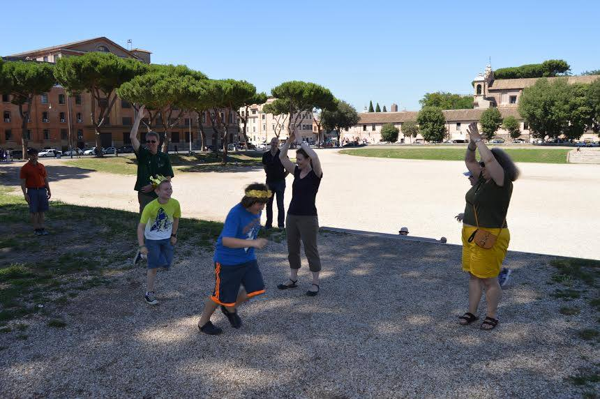 LS Rome Chariot Race